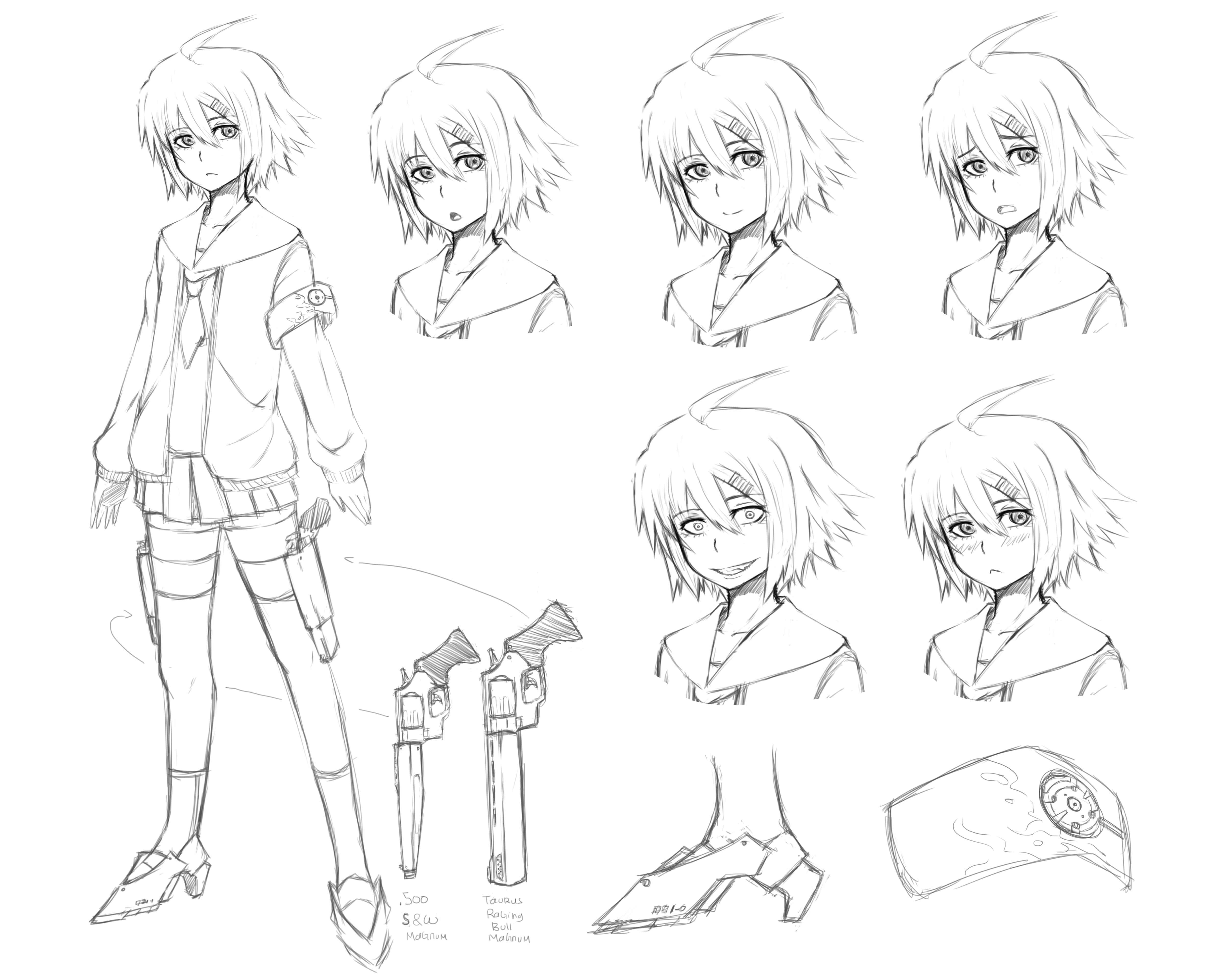 It is a graphic of Dynamic Character Template Drawing