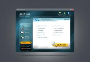 Antivirus GUI by Nas-wd