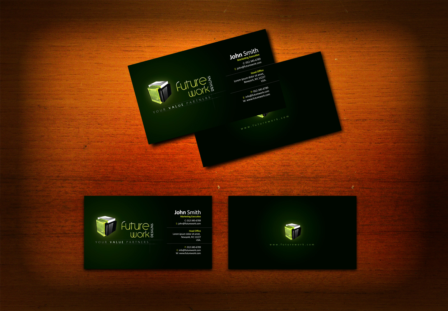 Business card attempt