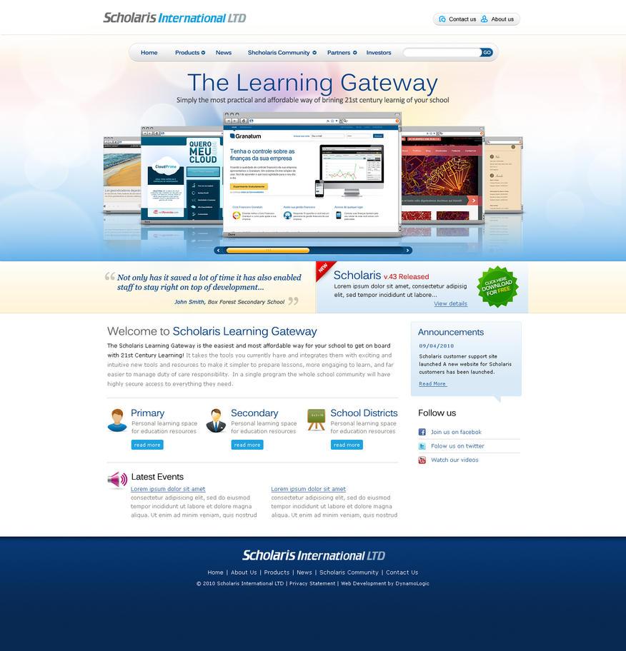 scholaris software website by Nas-wd