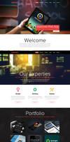 One Page Portfolio Website FOR SALE