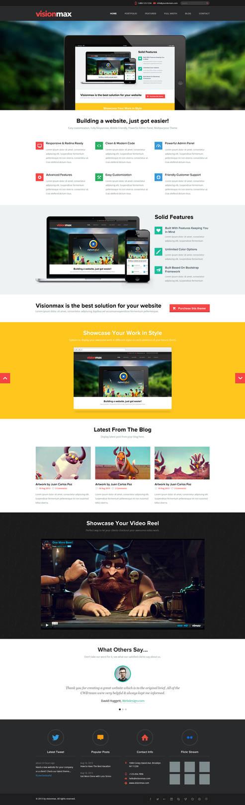 Visionmax Website