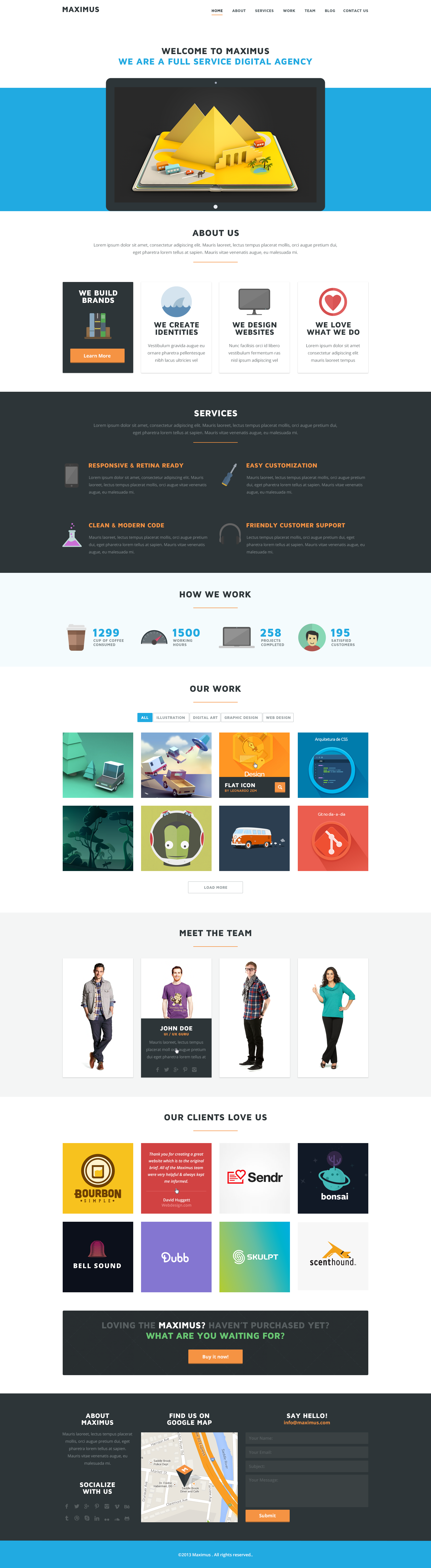Maximus - PSD Template by Nas-wd