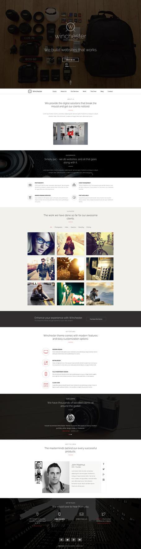 Winchester - Portfolio Theme by Nas-wd