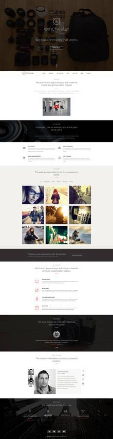 Winchester - Portfolio Theme