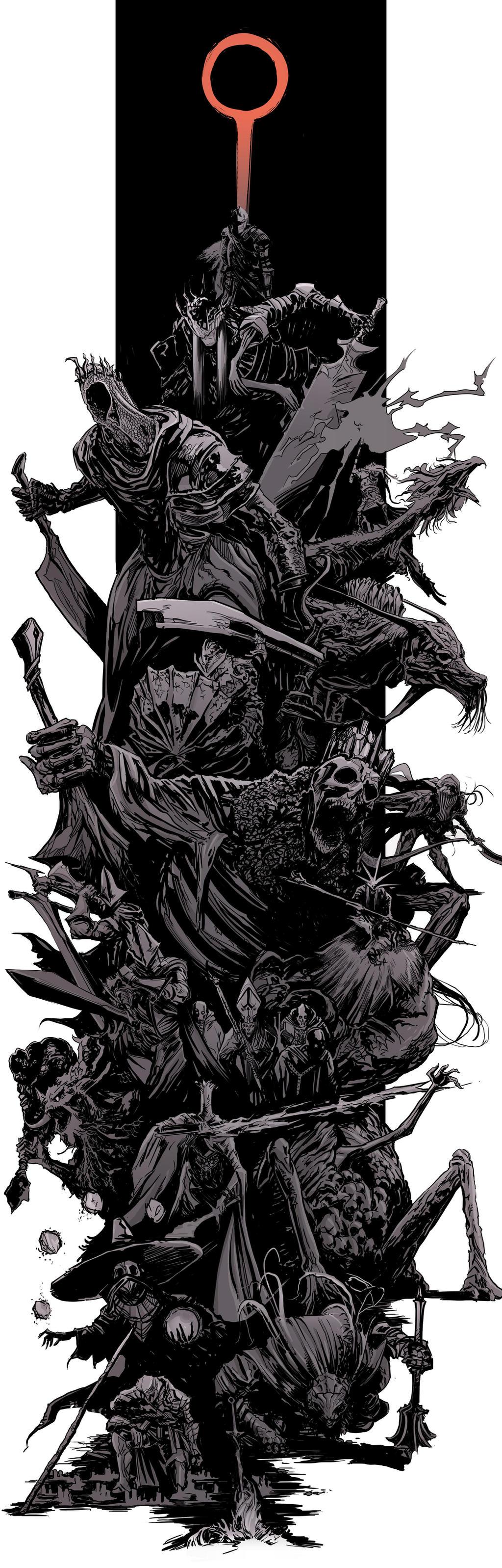 DarkSouls3 - bosses splash by uger