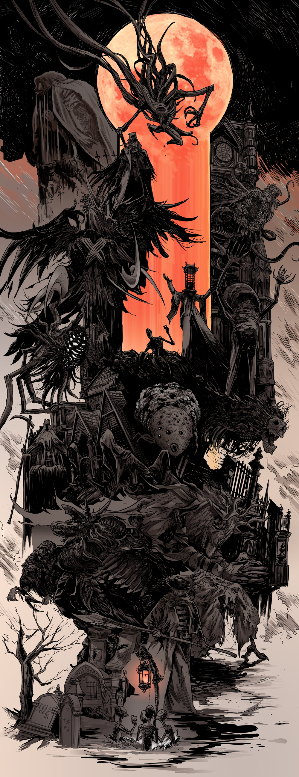 Bloodborne Bosses by uger