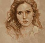Daily Sketch 05: Monica Bellucci in Malena
