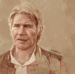 Daily Sketch 23: Han Solo Forever