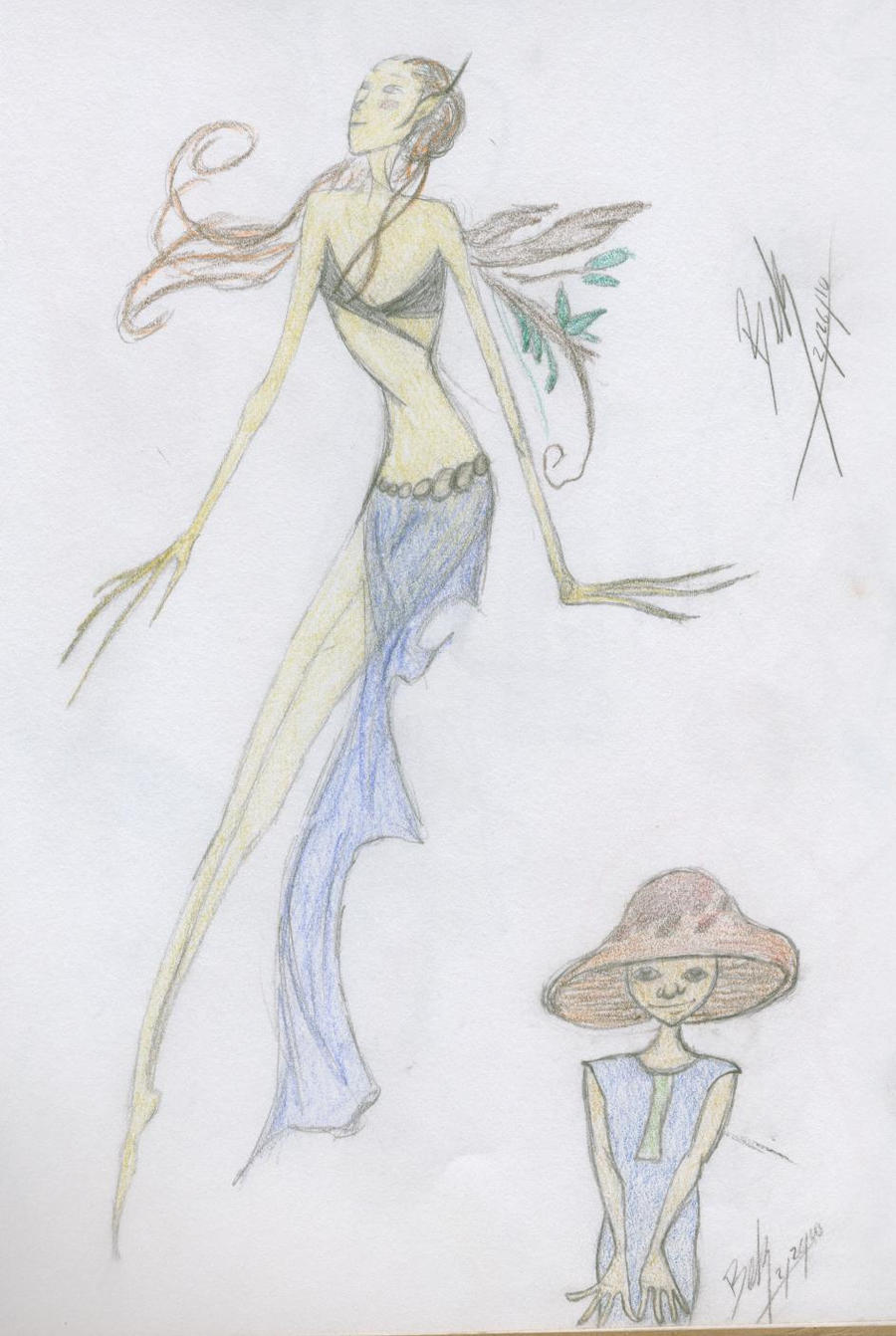 Fairy mushroom boy by imclueless on deviantart for Fairy on a mushroom drawing