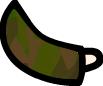 Green Camo Arm (Bent) by Daggett-Walfas