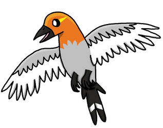 Type Colab: Fletchling by Piplup-Luv