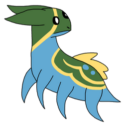 Type Collab: Gastrodon by Piplup-Luv
