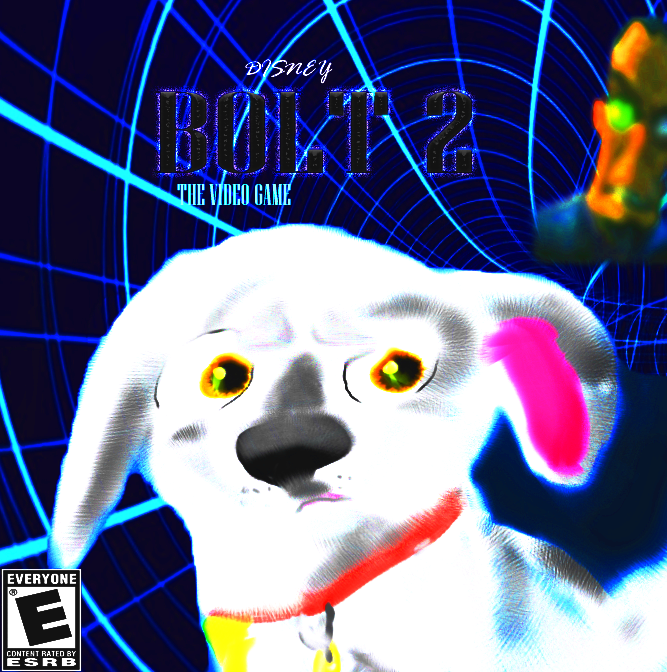 BOLT 2 videogame cover by Cinemutt14