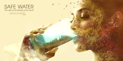 Safe Water..by HAMED SHAYEGH by hamedShayegh