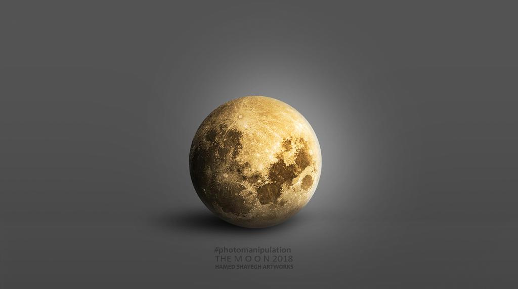 Moon 2018 by hamedShayegh
