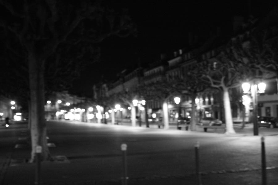 city lights black and white - photo #15