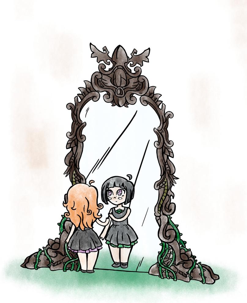 Through the mirror by stephen-steel