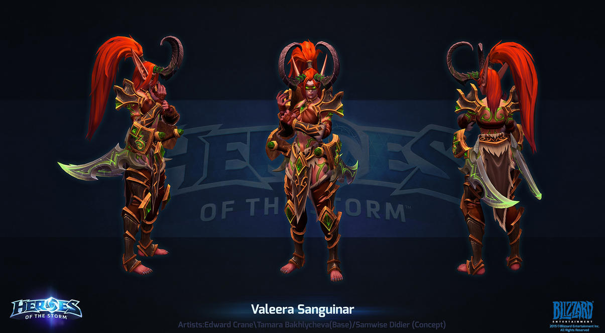 Hots Valeera Build