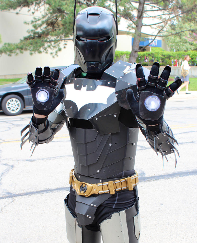 Iron Man - Batman Armor by GrumpyCosplay