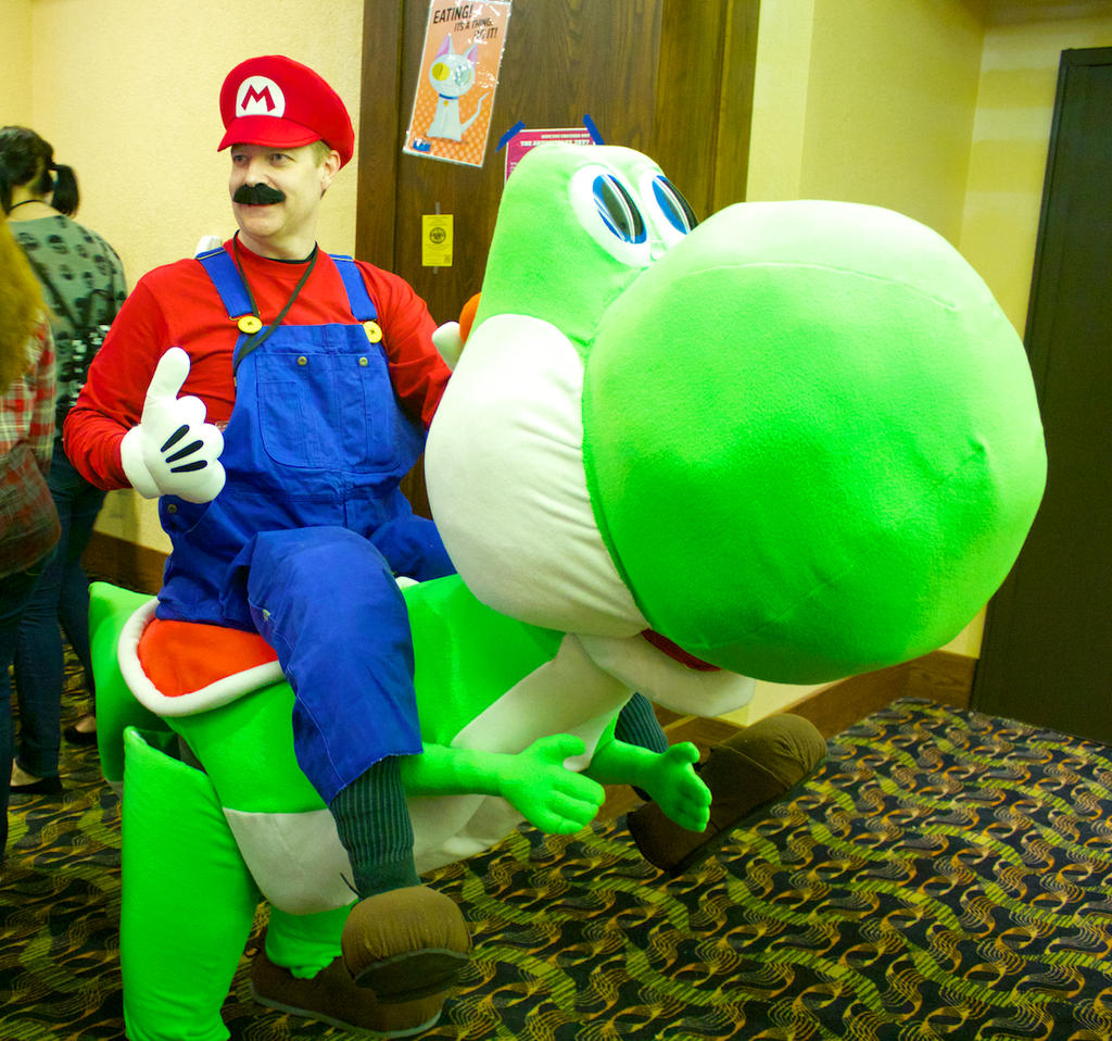 Bird O Mario Halloween Costume Golfclub