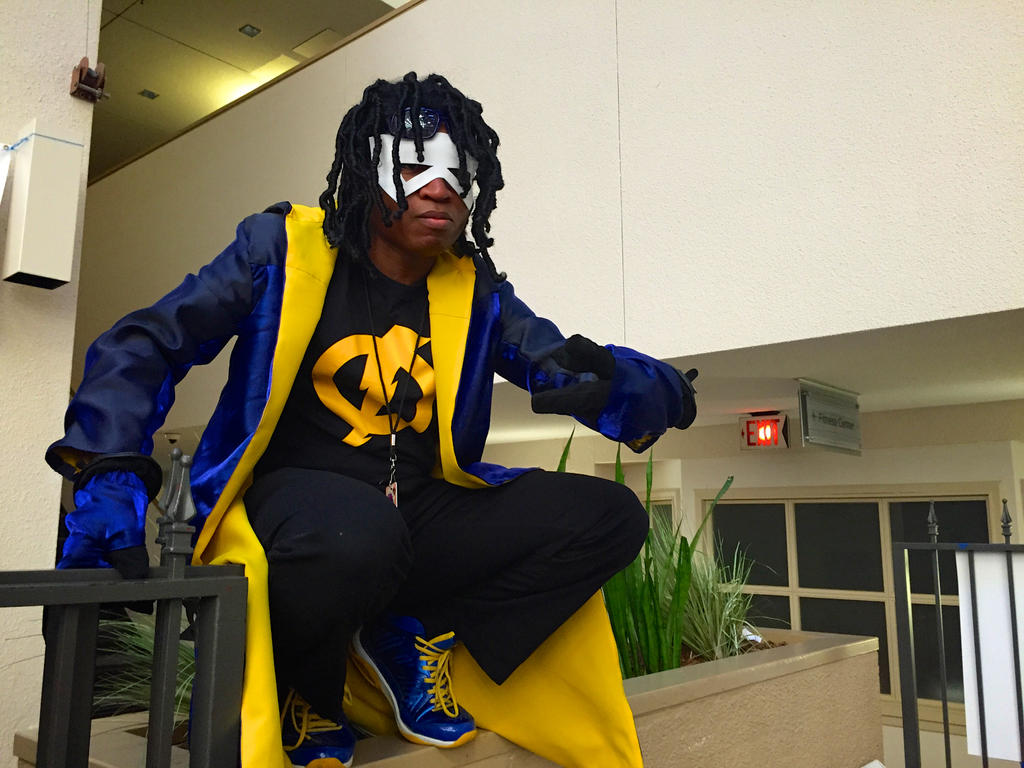 Static Shock cosplay by GrumpyCosplay