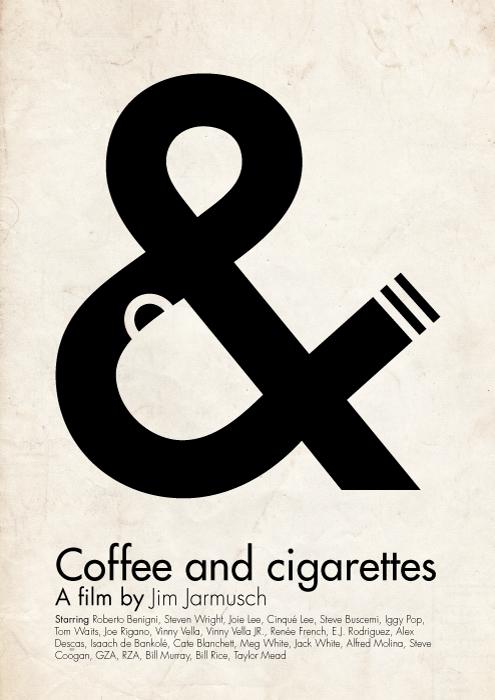 'Coffee and cigarettes' poster by viktorhertz