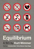'Equilibrium' film poster by viktorhertz