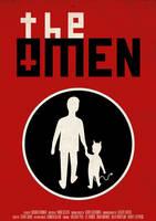 'The Omen' film poster by viktorhertz