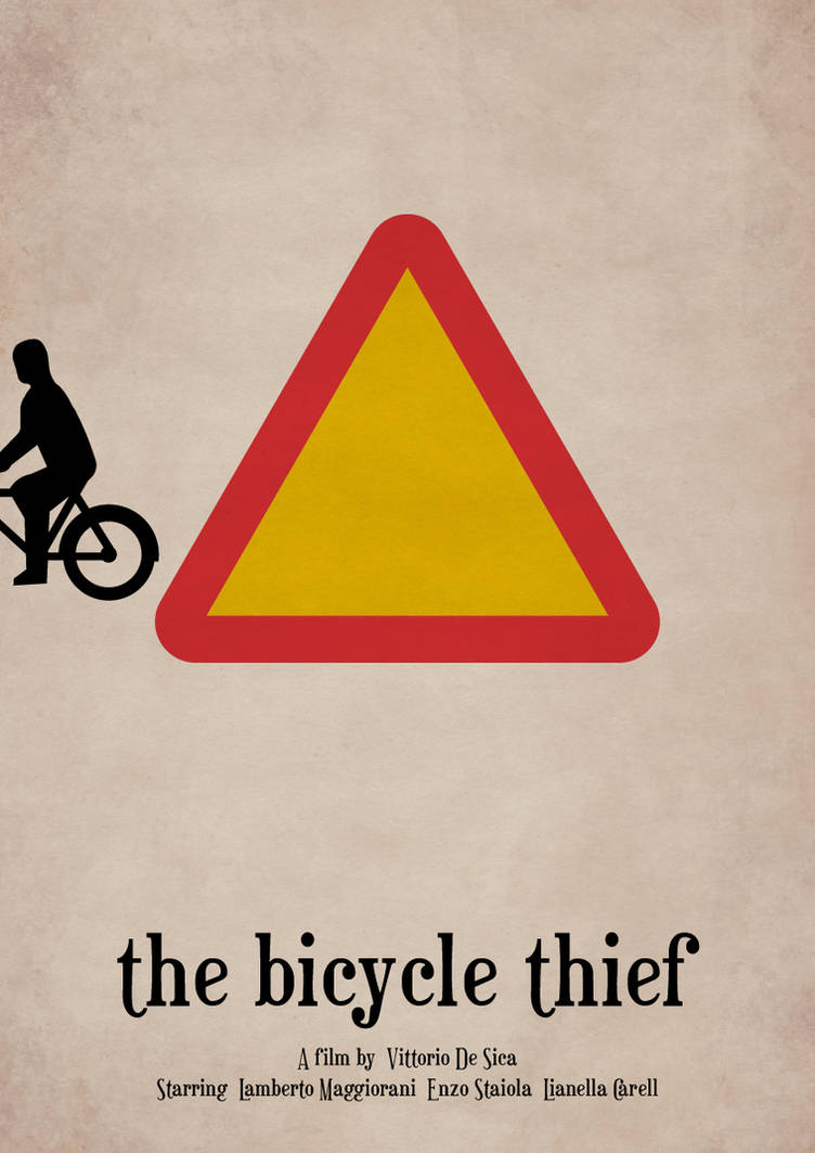 The Bicycle Thief by viktorhertz