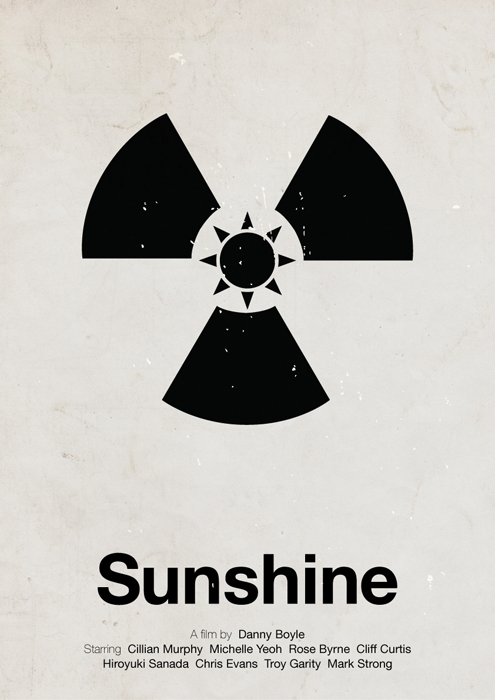 Sunshine pictogram poster by viktorhertz