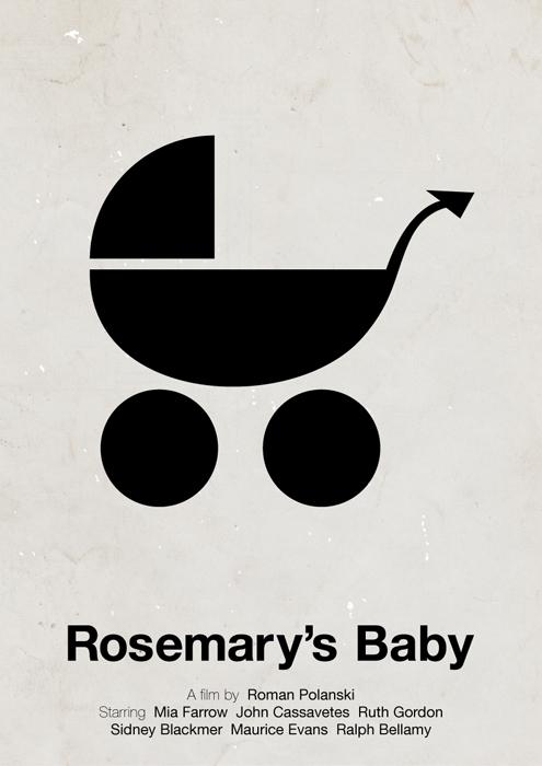 Rosemary's baby poster by viktorhertz