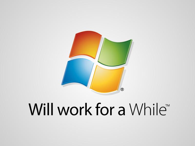 Will work for a While by viktorhertz