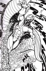 Stingray :: inked by DiMaio