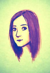 self-portrait 01 by K3LCH4N