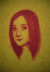 self-portrait 02 by K3LCH4N