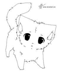 little kitty base by Jeniak
