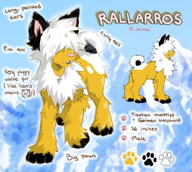 Rallarros ref by Jeniak