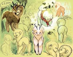 Koddoe doodles by Jeniak