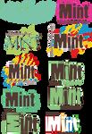 MINT logo designs