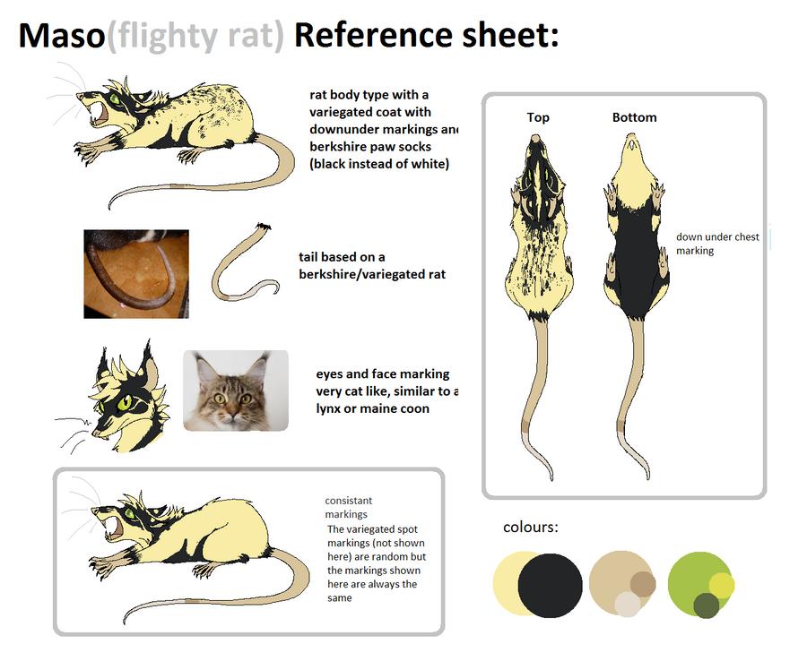 Maso reference sheet by mechanicalmasochist