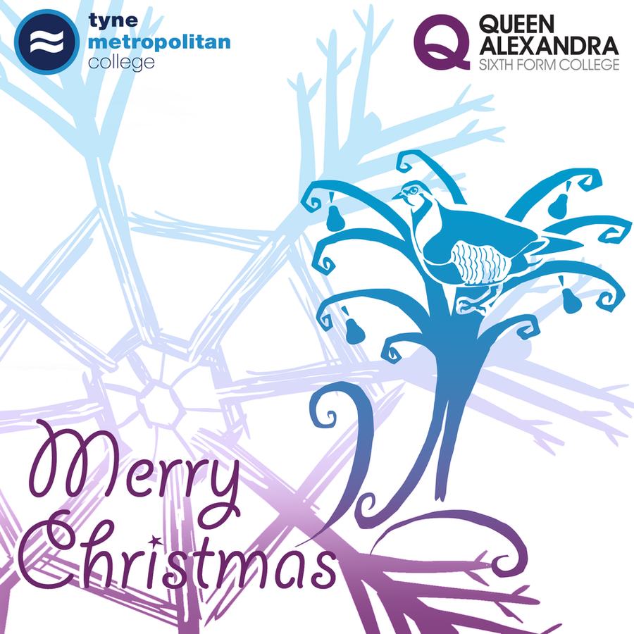 christmas card by mechanicalmasochist