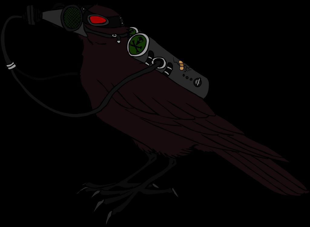 biohazard crow by mechanicalmasochist