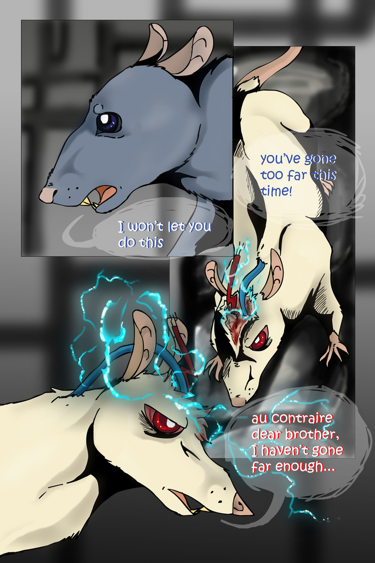 rats in a lab: page 2 by mechanicalmasochist