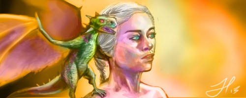 Mother of Dragons - Game of Thrones by ChopSui