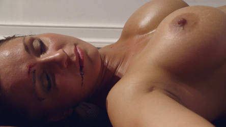 The sexy n' voluptuous Liana knocked unconscious by freddobbs