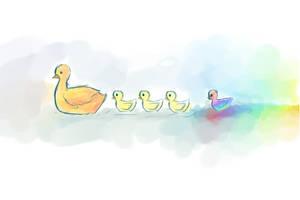 Ducks by s-u-n-n-y-j