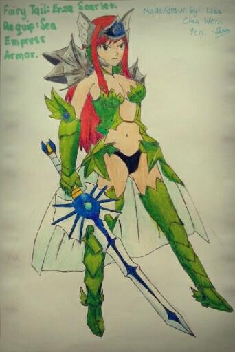 Fairy Tail Erza Flight Armor