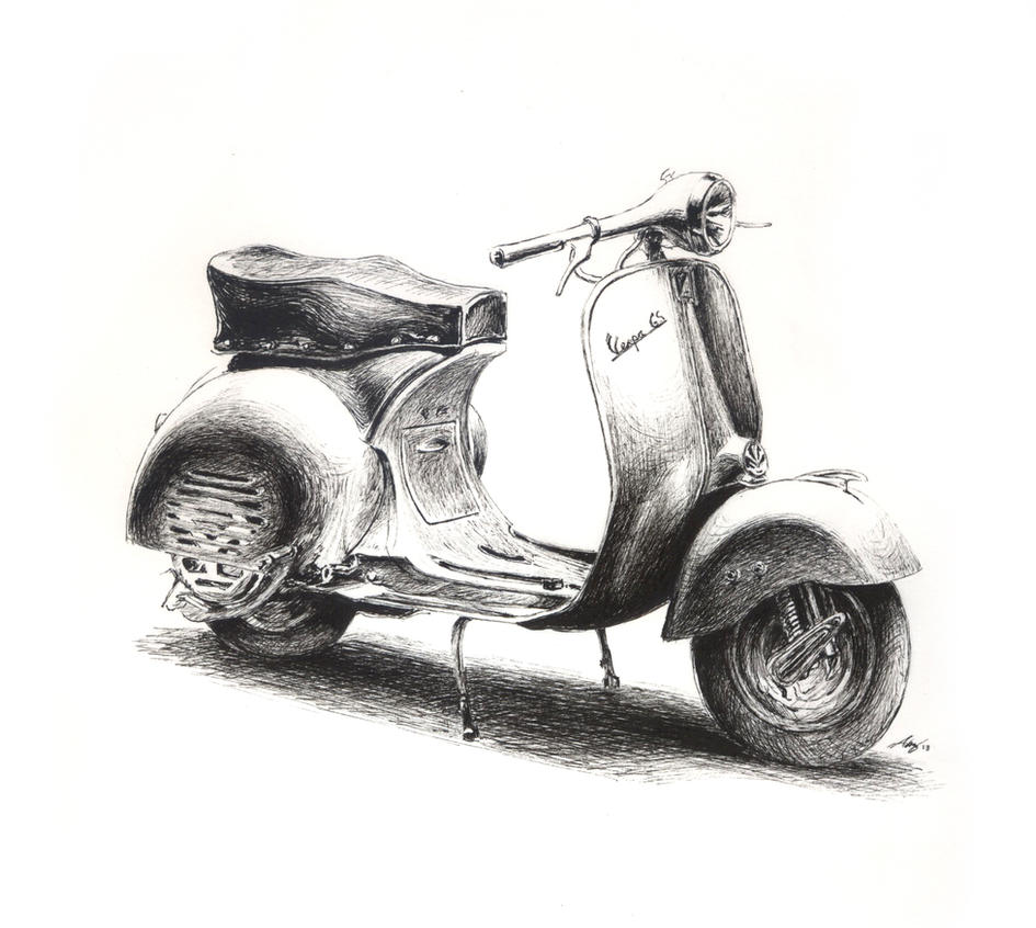 Vespa 150 GS by Andreiuska