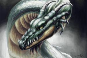 Dragon version 3 by Andreiuska